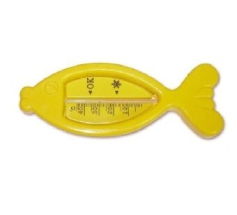 Harga Water Thermometer For Baby Bath Use Fish Thermometer - Yellow