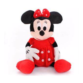 Harga 30cm mickey mouse Minnie soft toy plush doll