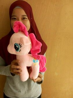 Harga My Little Pony Medium Size 32cm x 32cm (Pink)