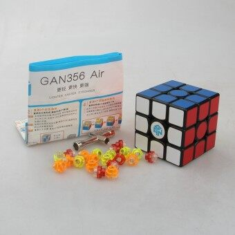 Harga Gans Puzzle Gan356 Air 3x3 Master/Advanced/Standard Black/white/Primar Cubo Magico Magic Cube Speed Drop Shipping