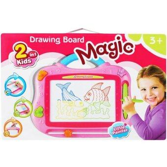 Harga KIDDY STAR COLOR MAGNETIC DRAWING BOARD - PINK