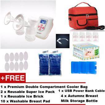 Harga Lacte Duet Electric Double Breast Pump + FREE GIFTS + CHEAPEST SHIPPING