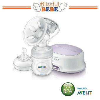 Harga SCF332/01 Philips Avent Natural Single Electric Breast Pump Standard - STANDARD