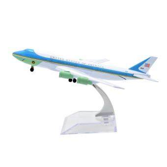 Harga 1:400 16cm Air Force One Boeing B747 Metal Airplane Model Plane Toy Plane Model