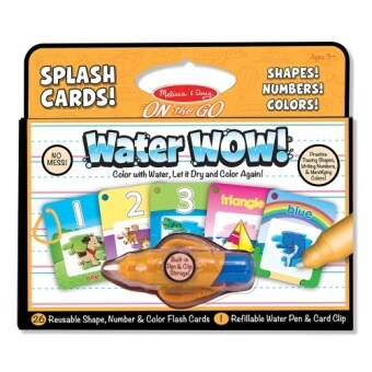 Harga MELISSA & DOUG Water Wow! Numbers, Shapes Cards