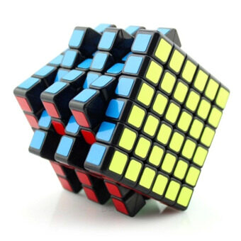 Harga 6x6 Aoshi Magic Cube Puzzle Cubo magico kub Stickerless Toys & Hobbies Education Cube IQ Brain Juguetes Educativos