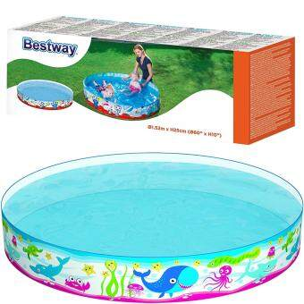 Harga Bestway Fill N Fun Pool, Multi Color (60x10-inch)