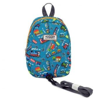 Harga Hugger Choo Choo Kids' Backpack with Harness (Turquoise)