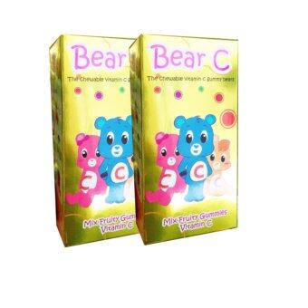 Harga Bear C - The Chewable Vitamin C Gummy Bears (2box)