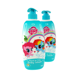Harga My Little Pony Twin Pack 750ML Head To Toe Baby Wash - Honey Soya Bean