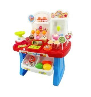Harga Xiong Cheng Mini Market Play Set Red 668-23