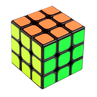 Harga LT365 Yong Jun Yu Long 3x3x3 Speed Cube Competition Version Stickered (57mm) Black