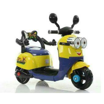 Harga Kid's Rechargeable Motorbike Minion Design