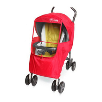 Harga Manito Elegance Plus Stroller Weather Shield/Rain Cover (Red)