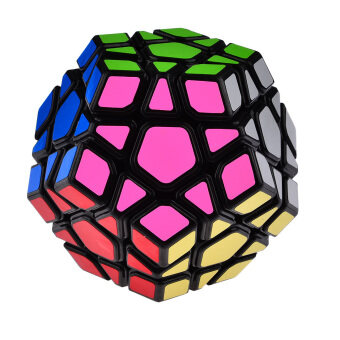 Harga LT365 Yongjun YJ Yuhu Megaminx Magic Cube Speed Cube – Black
