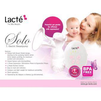 Harga Lacte Solo Electric Single Breastpump