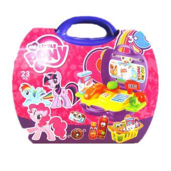 Harga My Little Pony Market Bag Playsets (23pcs)