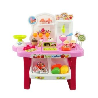 Harga Xiong Cheng Mini Market Play Set Pink 668-24