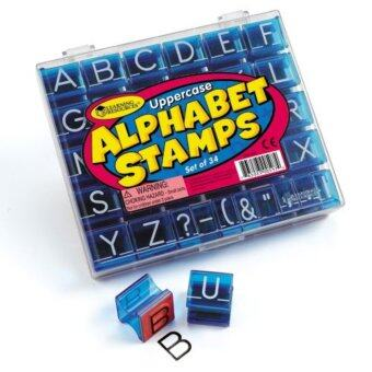 Harga LEARNING RESOURCES Uppercase Alphabet Stamps
