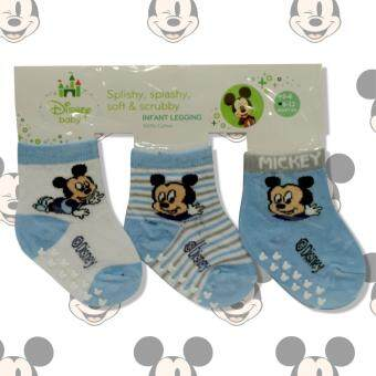 Harga Disney Baby Mickey Ankle Sock Blue