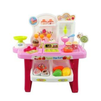 Harga Xiong Cheng Mini Market Play Set 34pcs 668-24 (Pink)