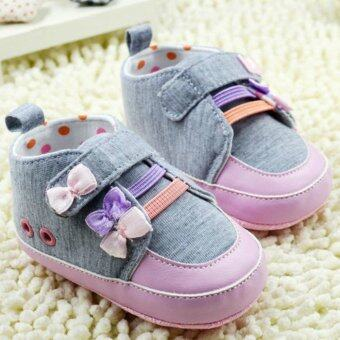 Harga First walkers Lovely Mouse Soft sole baby shoes, infants toddler girls princess children newborn bebe sapatos