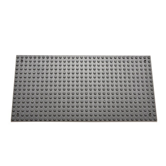 Harga Amango 16X32 Particles Blocks Base Plates DIY Toys for Lego Mini Bricks Base Plate Toy (Grey)