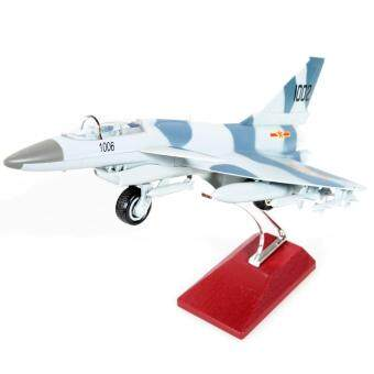 Harga Easy Model F-10 Fighter Alloy Diecast Model Toys Sound&Light Back Aircraft Gift Grey