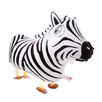 Harga MagiDeal Cute Walking Zebra Helium Balloon