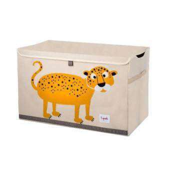 Harga 3 Sprouts Toy Chest / Storage Box Series F (D01-Leopard)