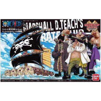 Harga Bandai Hobby Grand Ship Collection Mashall D Teach's Ship Action Figure