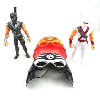 Harga Ninja Warriors Play Set With Two Face Masks & Two Large Ninjas