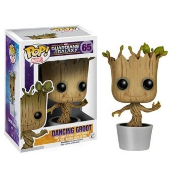 Harga Funko PoP 10CM Vinyl Dancing Groot Toy 4�x9D Guardians Of The GalaxyGroot Action Figures