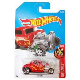 Harga Hot Wheels 2017 HW Flames '32 Ford [Red]