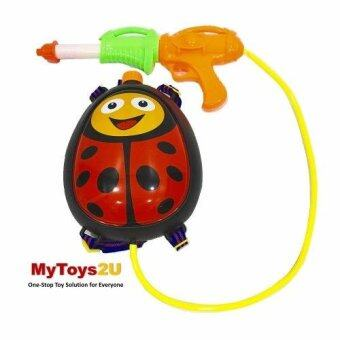 Harga Red Ladybug Beetle Backpack WaterGun Blaster Water Gun Fun