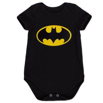 Harga Hequ Baby Boy Girl One-Piece Suit Short Sleeve Cartoon Superman Batman Style Super Hero Romper