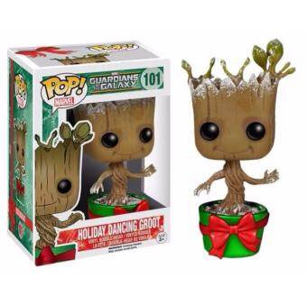 Harga Funko Pop!Guardians Of The Galaxy - Holiday Dancing Groot #7256 Exclusive