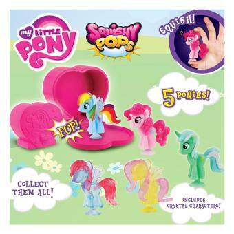 Harga Squishy Pops My Little Pony Figure (Pack of 5)