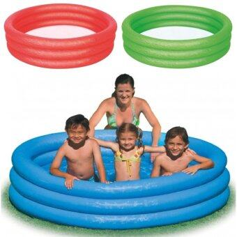 Harga Bestway Inflatable 3 Ringed Swimming Paddling Pool 152 x 30.5cm