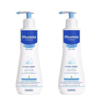 Harga Mustela Hydra Bebe Body Lotion 300ml Twin Pack
