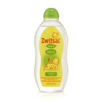 Harga ZWITSAL NATURAL BABY OIL