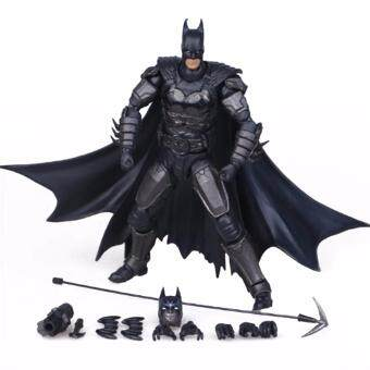 Harga Hequ NEW Batman Action Figure Justice League Batman Mobile Action Figure Toys The Dark Knight Rises Batman Christmas Doll Toy