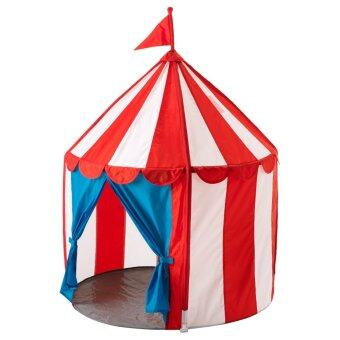 Harga Children's Indoor Play Tent -- CIRCUS TENT- Cirkustalt (Red/White)