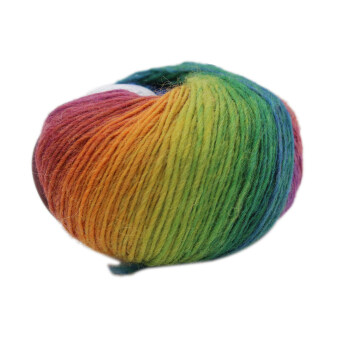 Harga MagiDeal Wool Knitting Thread Fingering Crochet Yarn Dyed #1