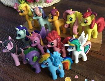 Harga Big size My little pony 12pcs collection / Cake Topper free pony sticker