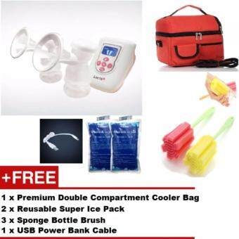 Harga Lacte Duet Electric Double Breast Pump + FREE GIFTS