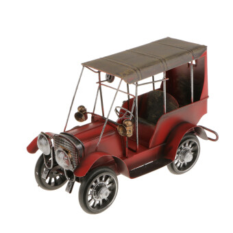 Harga BolehDeals Metal Vintage Classic Car Model Wrought Iron Handicraft Car Model Red