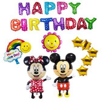 Harga Mickey & Minnie Happy Birthday Balloon