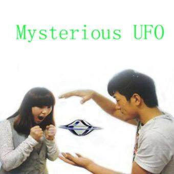 Harga Street Magic UFO Mystery UFO Floating Flying Saucer Toy Classic Toys Flying Saucer Magic Trick Disk Mystery Floating UFO