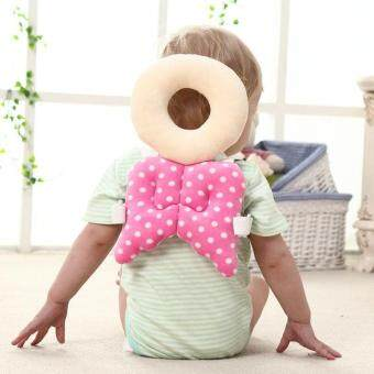 Harga Baby Head protect pillow Soft flannel cover recovery pillow Toddler Protection pad Shoulder backpack Pillow Guardian